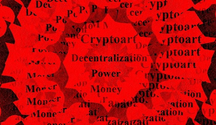 Cryptoart and the decentralization of the power and money